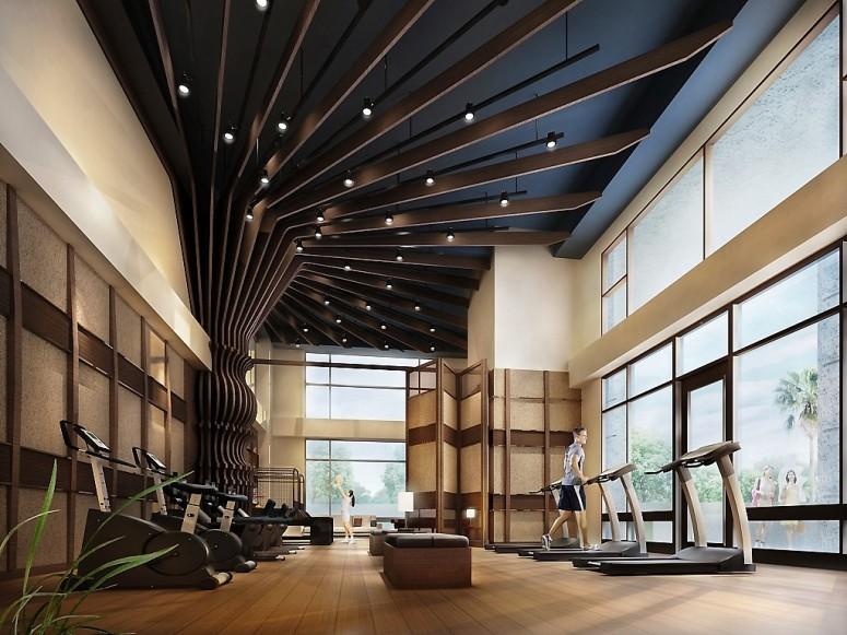 健身房娛樂廳