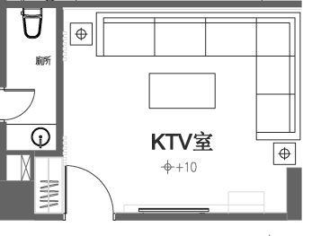 KTV平面圖